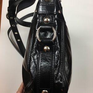 Coach Bags - Coach Patent Leather Zoe shoulder bag F15478